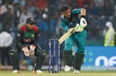 Shoaib Malik plays on the leg side, Bangladesh v Pakistan, Asia Cup 2018, Abu Dhabi, September 26, 2018