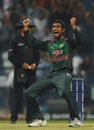Mahmudullah roars after taking a wicket, Bangladesh v Pakistan, Asia Cup 2018, Abu Dhabi, September 26, 2018