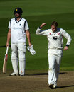 Adam Riley made the breakthrough, Warwickshire v Kent, County Championship, Division Two, Edgbaston, September 25, 2018