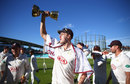 Tastes sweet: Morne Morkel drinks in Surrey's title, Surrey v Essex, County Championship, Division One, The Oval, September 27, 2018