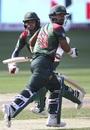 Liton Das and Mehidy Hasan get across for a run, Bangladesh v India, Asia Cup final, Dubai, September 28, 2018