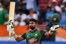 Liton Das celebrates his maiden ODI hundred, Bangladesh v India, Asia Cup final, Dubai, September 28, 2018