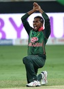 Nazmul Islam brings out the 'naagin' dance after getting Shikhar Dhawan out, Bangladesh v India, Asia Cup final, Dubai, September 28, 2018