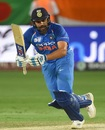 Rohit Sharma clips the ball off his toes, Bangladesh v India, Asia Cup final, Dubai, September 28, 2018