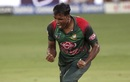 Rubel Hossain roars after getting Rohit Sharma out, Bangladesh v India, Asia Cup final, Dubai, September 28, 2018