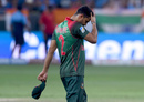 Mashrafe Mortaza wears a dejected look, Bangladesh v India, Asia Cup final, Dubai, September 28, 2018