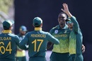 Lungi Ngidi gives South Africa an early breakthrough, South Africa v Zimbabwe, 1st ODI, Diamond Oval, September 30, 2018