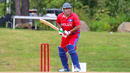 Howell Gillett was asked by his captain to retire out due to a slow scoring rate, Belize v Panama, ICC World Twenty20 Americas Sub Regional Qualifier A, Morrisville, September 22, 2018