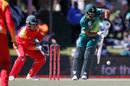 Khaya Zondo flicks through the leg side, South Africa v Zimbabwe, 2nd ODI, Bloemfontein, October 3, 2018