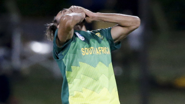 Imran Tahir is overjoyed after becoming the fourth South African to take an ODI hat-trick
