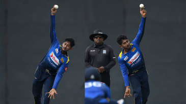 Left-arm round, right-arm over: Kamindu Mendis shows off all his tricks