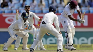 Shannon Gabriel is stumped by Rishabh Pant
