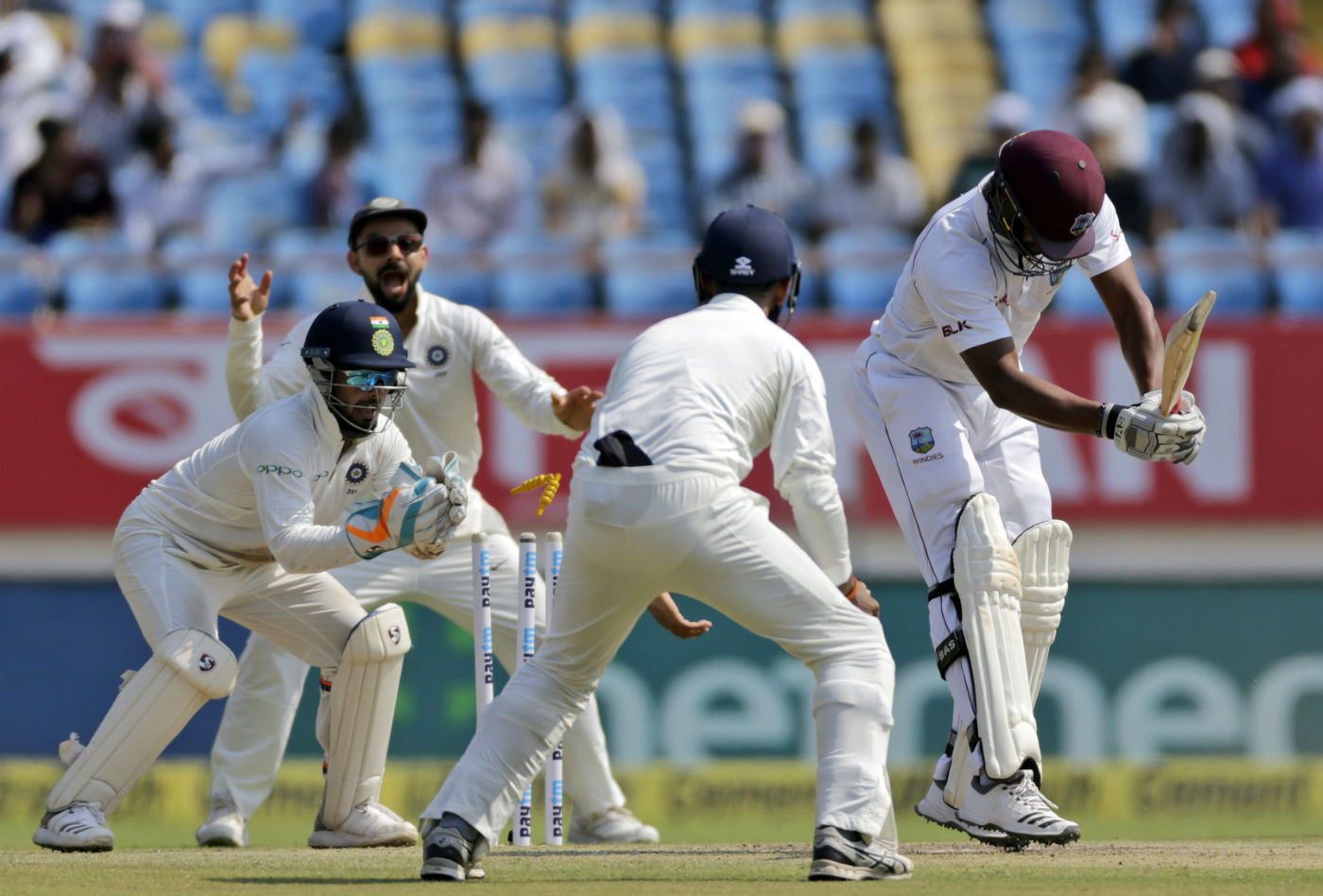 India Vs West Indies 1st Test Day3 Highlights 2018
