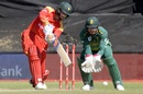 Sean Williams steadied Zimbabwe's innings with a half-century, South Africa v Zimbabwe, 3rd ODI, Paarl, October 6, 2018