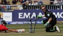 Brendon McCullum runs out Owais Shah, ICC Twenty20 Cricket World Championship Super Eights, England v New Zealand, Kingsmead, Durban, South Africa September 18, 2007