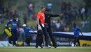 Joe Root heads off as the covers come on, Sri Lanka v England, 1st ODI, Dambulla, October 10, 2018