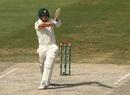 Aaron Finch pulls, Pakistan v Australia, 1st Test, Dubai, 4th day, October 10, 2018