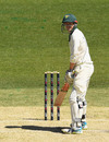 George Bailey stands at the crease, day one, Sheffield Shield match, Victoria v Tasmania, Melbourne Cricket Ground, November 13, 2017, Melbourne, Australia.