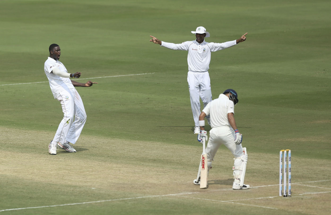 India Vs West Indies 2nd Test Day 2 Highlights