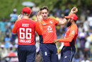 Chris Woakes struck three times in his opening spell, Sri Lanka v England, 2nd ODI, Dambulla, October 13, 2018