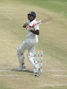 R Ashwin ventures a pull, India v West Indies, 2nd Test, Hyderabad, Day 3, October 14, 2018