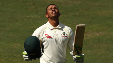 Usman Khawaja's 141 in 524 minutes is the second-longest fourth innings stint in Tests