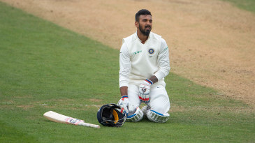 KL Rahul takes a breather