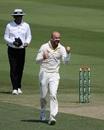Nathan Lyon celebrates, Pakistan v Australia, 1st Test, Abu Dhabi, 1st day, October 16, 2018