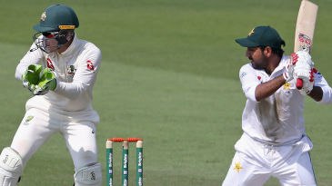 Sarfraz Ahmed played a typically industrious knock