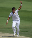 Mir Hamza appeals for a wicket on debut, Pakistan v Australia, 2nd Test, Abu Dhabi, 2nd day, October 17, 2018