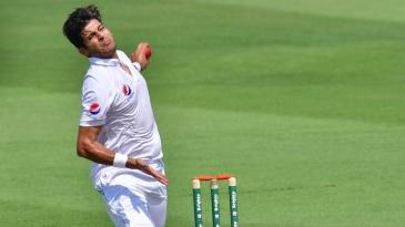 Mir Hamza bowled tight lines but found no reward