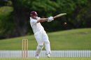 Daryl Mitchell looks to pull the ball, Canterbury v Northern Districts, Plunket Shield 2018-19, Christchurch, 1st day, October 17, 2018