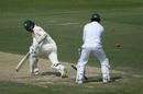 Nathan Lyon is bowled by Bilal Asif, Pakistan v Australia, 2nd Test, Abu Dhabi, 2nd day, October 17, 2018