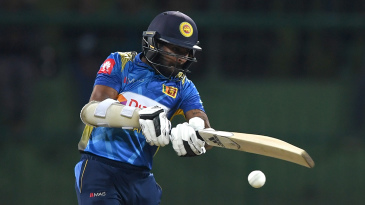 Niroshan Dickwella started with intent for Sri Lanka