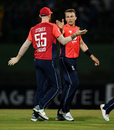 Tom Curran claimed the first wicket of Sri Lanka's innings, Sri Lanka v England, 3rd ODI, Pallekele, October 17, 2018
