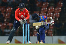 Kusal Mendis was bowled first ball by Adil Rashid's googly, Sri Lanka v England, 3rd ODI, Pallekele, October 17, 2018