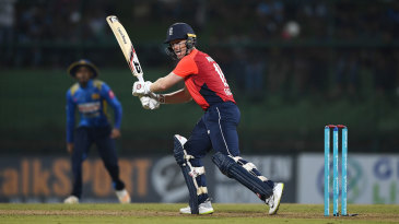 Eoin Morgan recorded his second consecutive fifty