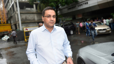 BCCI CEO Rahul Johri outside the board's headquarters