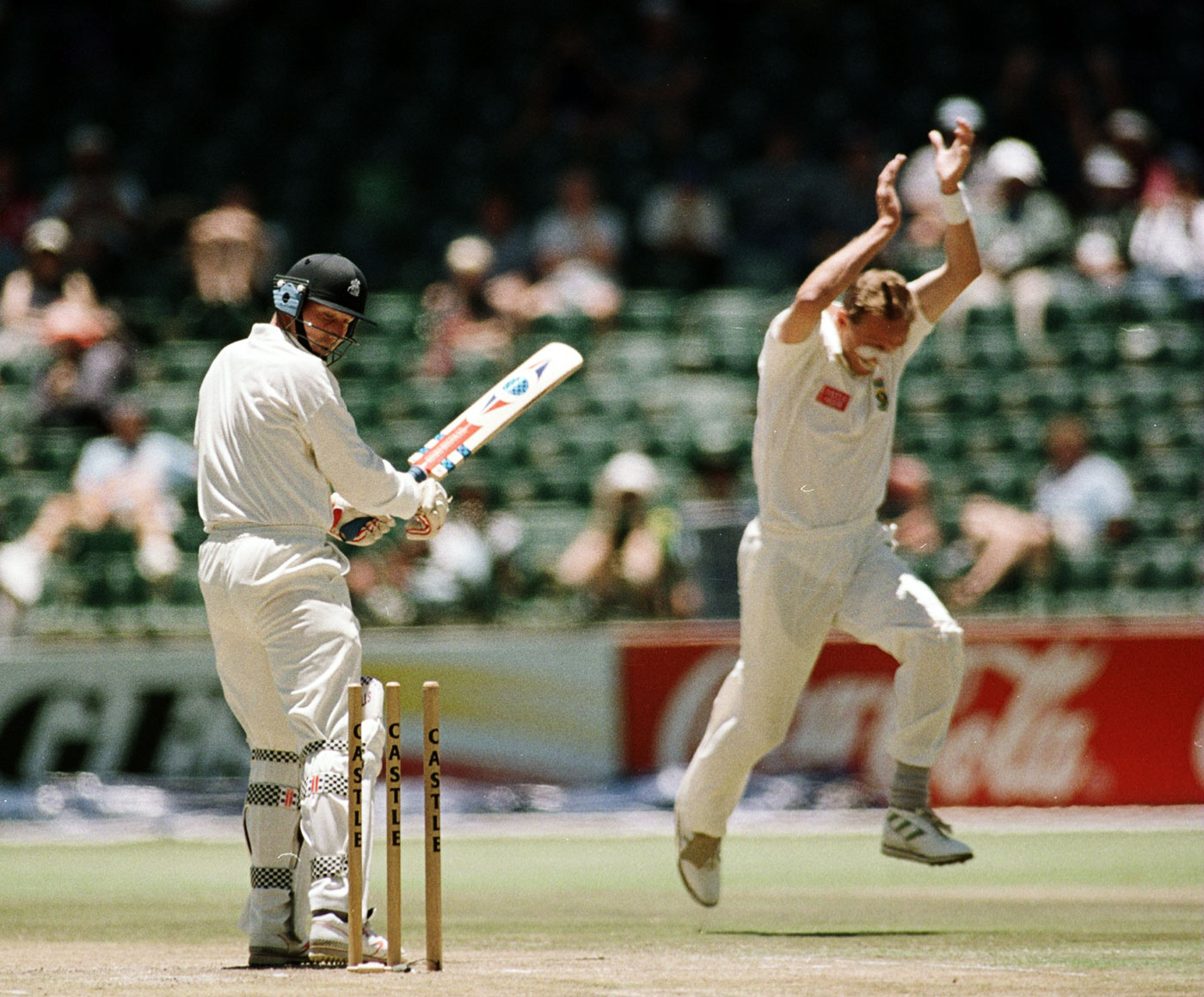 Donald dismissed Mike Atherton 11 times in 17 Tests between the two teams from 1994 to 2000