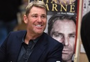 Shane Warne during a book signing event for his autobiography, Melbourne, October 19, 2018