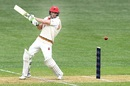 Jake Lehmann swats one away, South Australia v New South Wales, Sheffield Shield 2018-19, Adelaide, October 19, 2018