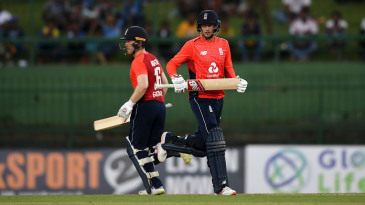 Joe Root and Eoin Morgan kept the chase on course