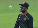 Zimbabwe batsman Sikandar Raza at a practice session on the eve of the first ODI against Bangladesh, Mirpur, October 20, 2018