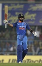 Virat Kohli brings up another fifty, India v West Indies, 1st ODI, Guwahati, October 21, 2018