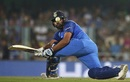 Rohit Sharma sweeps, India v West Indies, 1st ODI, Guwahati, October 21, 2018