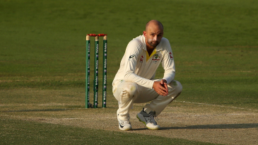Nathan Lyon bagged the wickets of Azhar Ali, Haris Sohail, Asad Shafiq and Babar Azam in six balls