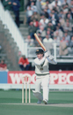 Australian batsman Bruce Laird in action against England during a one-day match in Birmingham, August 1980.