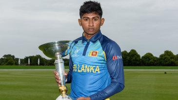Kamindu Mendis, who was Sri Lanka's captain in the Under-19 World Cup earlier this year, might soon make his international debut