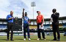 Jos Buttler and Dinesh Chandimal at the toss, Sri Lanka v England, 5th ODI, October 23rd