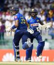 Sadeera Samarawickrama and Niroshan Dickwella put on a century stand for Sri Lanka, Sri Lanka v England, 5th ODI, October 23, 2018